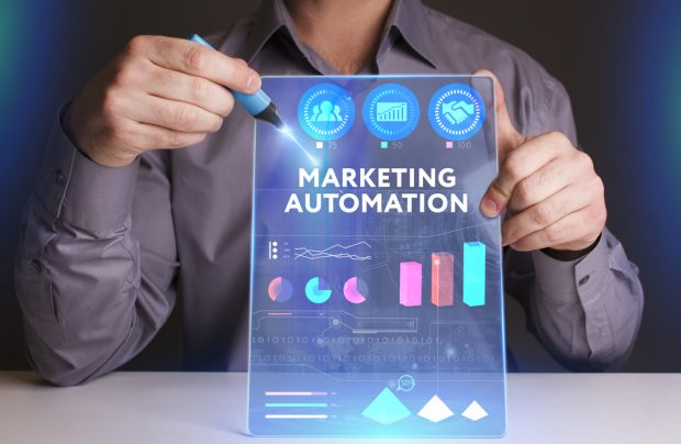 Marketing automation on tablet