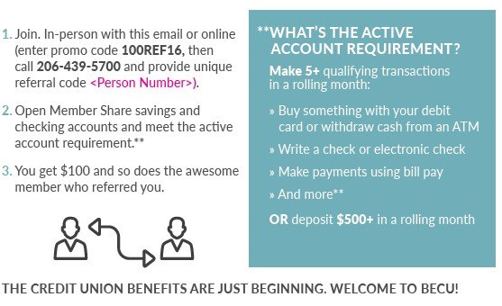 Test, Learn & Evolve: BECU's Member Referral Program