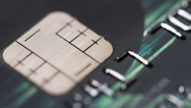EMV card chip
