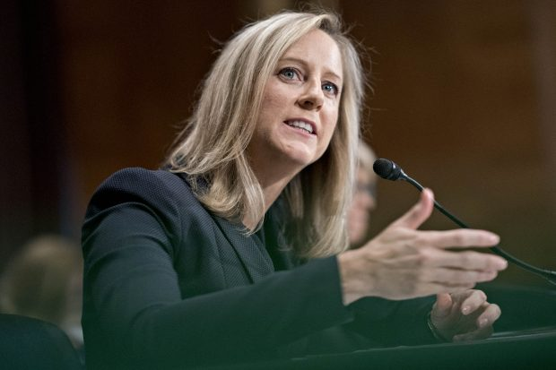 Kathy Kraninger, director of the Consumer Financial Protection Bureau (CFPB).