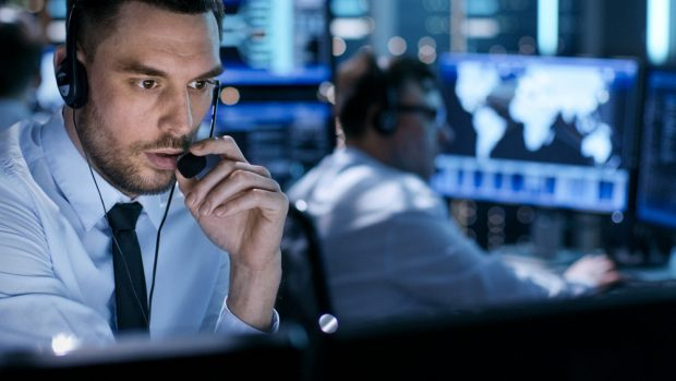 Cybersecurity call center