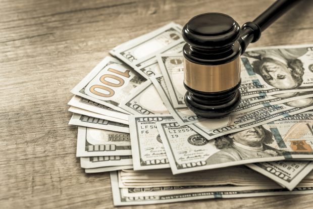 Lawsuite cash settlement