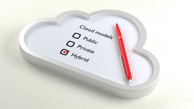 hybrid IT technology cloud
