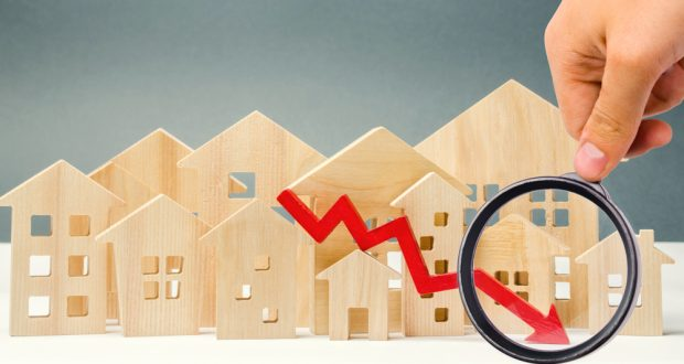 Lending trends going down.