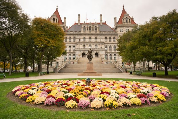 New York Capitol building in Albany, N.Y.