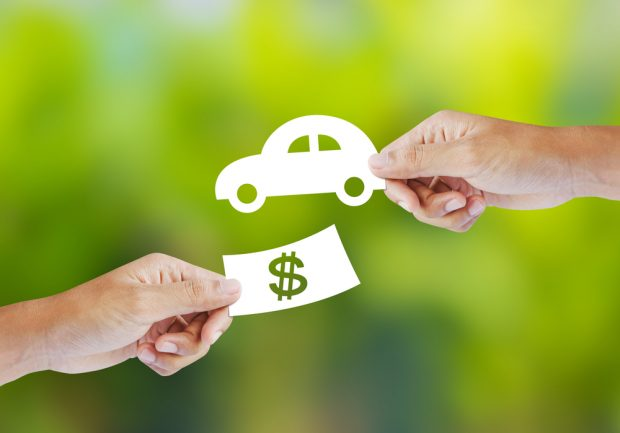 handing out an auto loan