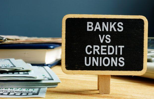 Banks versus credit unions.