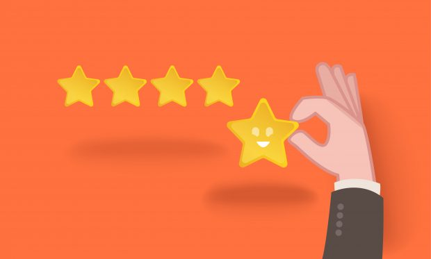 5-star company review