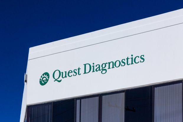 Quest Diagnostics Inc. building.