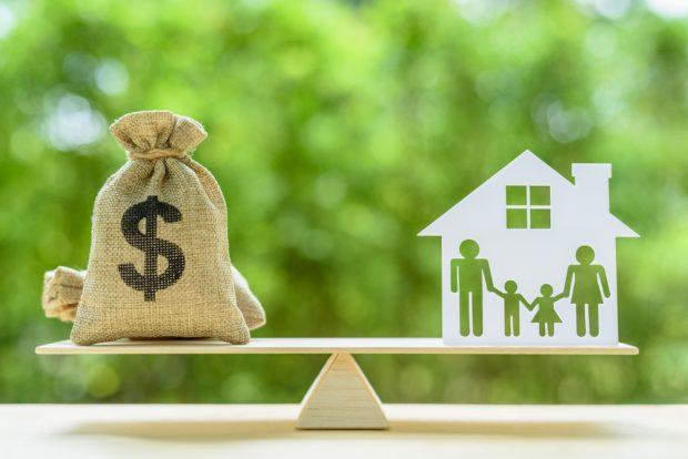 Refinancing mortgage.