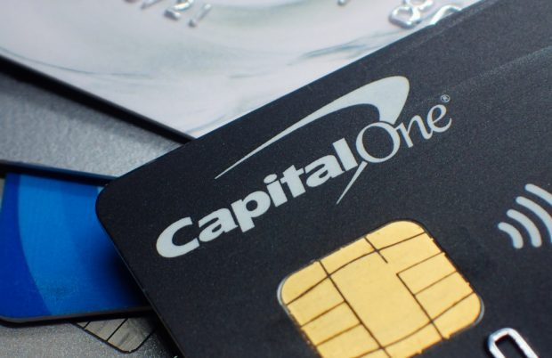Capital One credit card.