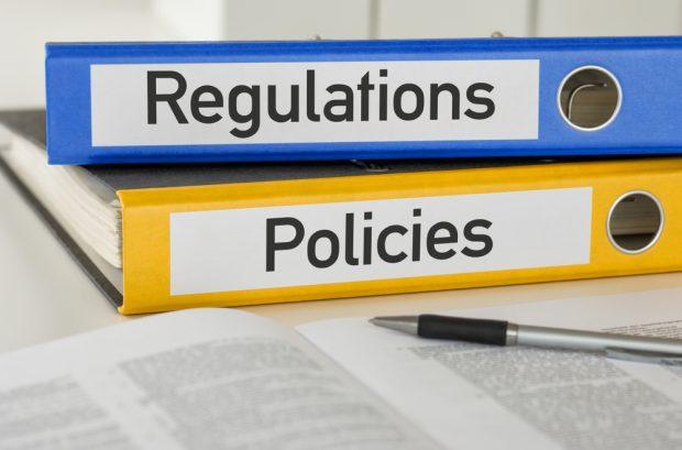 regulations and policies