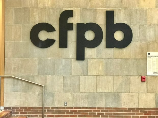CFPB headquarters.
