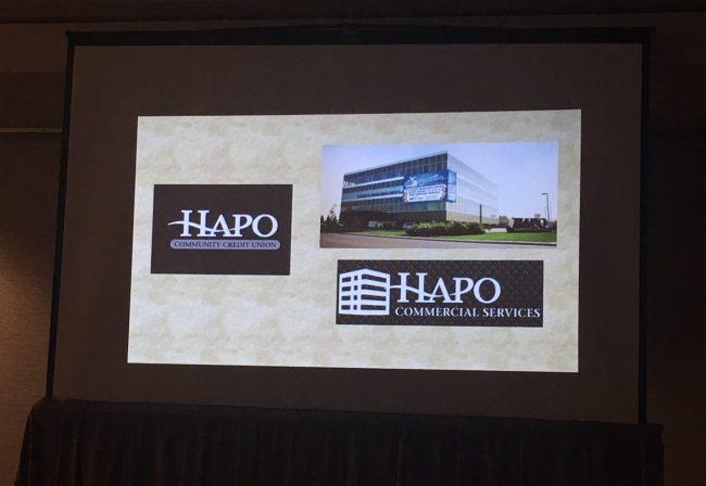 HAPO logo slide