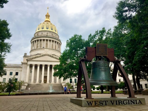 West Virginia State Capitol Building in Charleston.