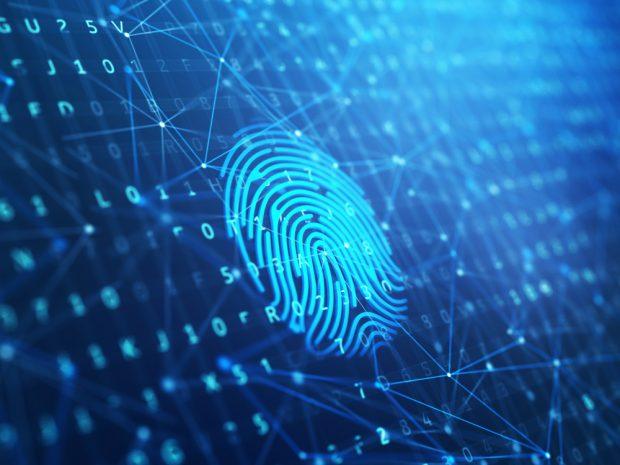Mapping a digital fingerprint.
