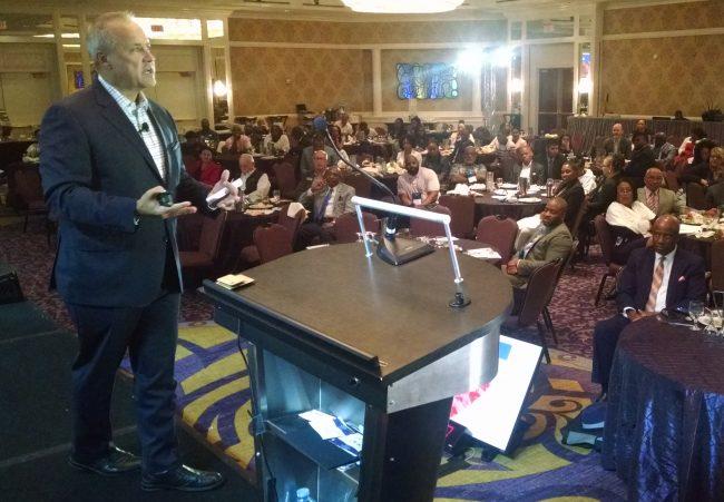 Jim Nussle speaks at AACUC
