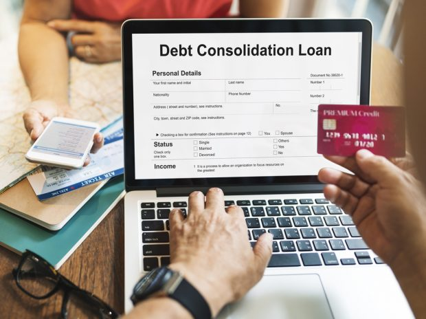 Consolidating credit card debt appears to help improve credit scores.