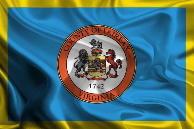 Flag of Fairfax County.