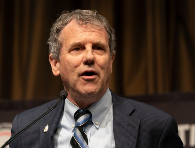 File photo of U.S. Senator Sherrod Brown.