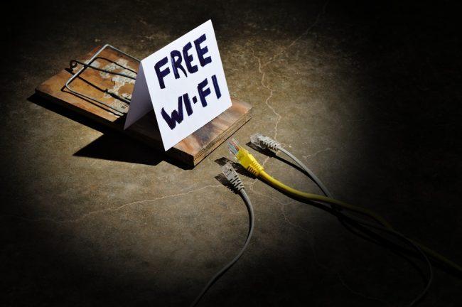 Free Wi-Fi trap