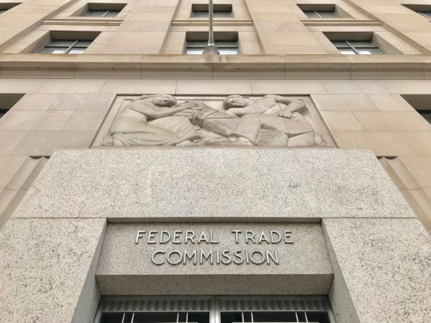 Federal Trade Commission building.