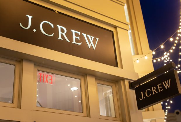 J. Crew store.
