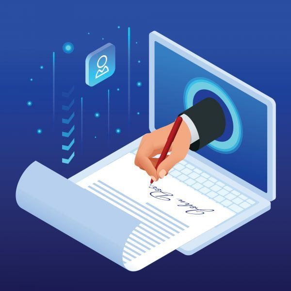 electronic signature contract