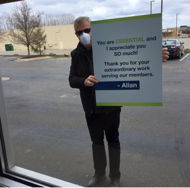Allan McMorris, CEO of Vibe CU.