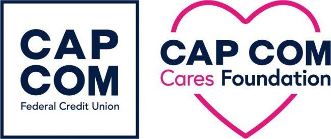 CAP COM CU & CAP COM Cares Foundation logos