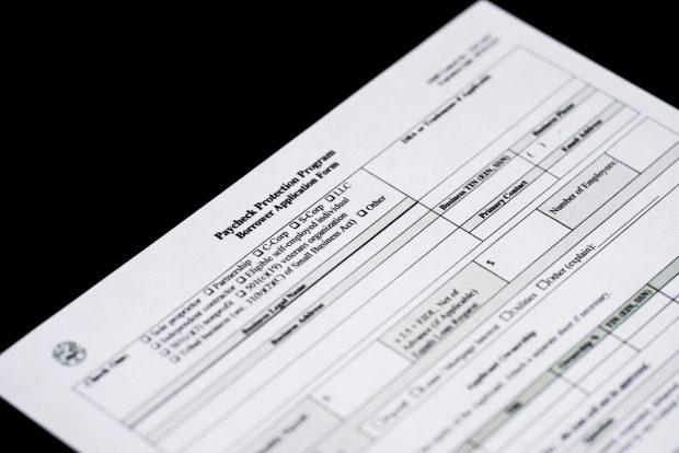 Paycheck Protection Program application.