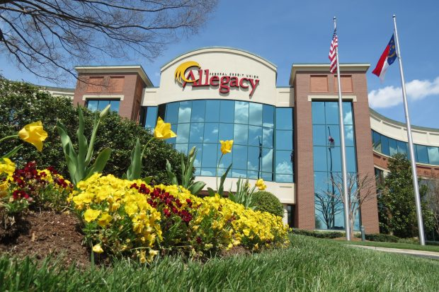 Allegacy FCU's headquarters in Winston-Salem, N.C.