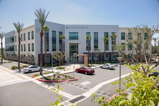 CO-OP Financial Services headquarters in Rancho Cucamonga, Calif.