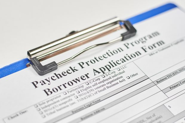 Paycheck Protection Program application.