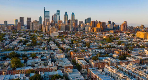 The streets of Philadelphia.