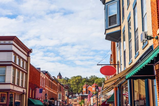 small businesses on main street