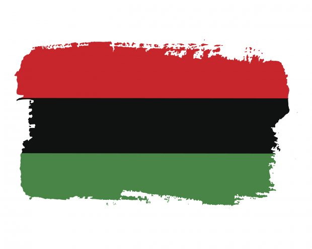 Juneteenth Freedom Day flag.