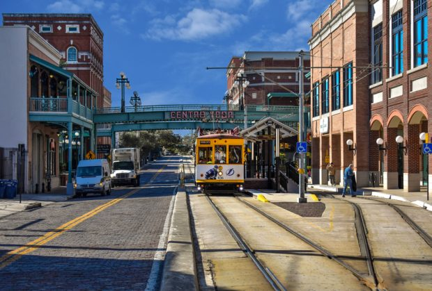 Ybor City, the historic neighborhood in Tampa.