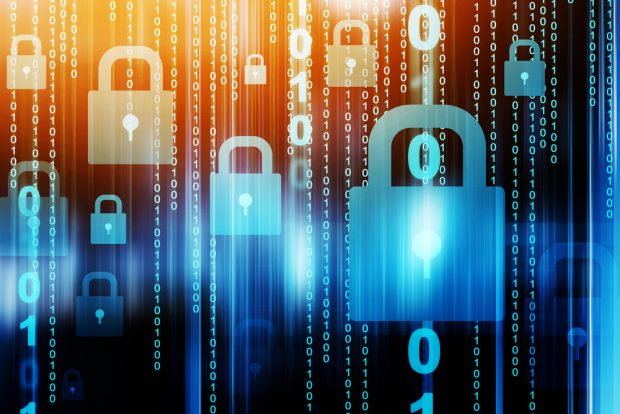 digital chains and locks to protect data