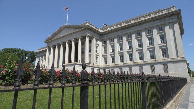 U.S. Department of Treasury building