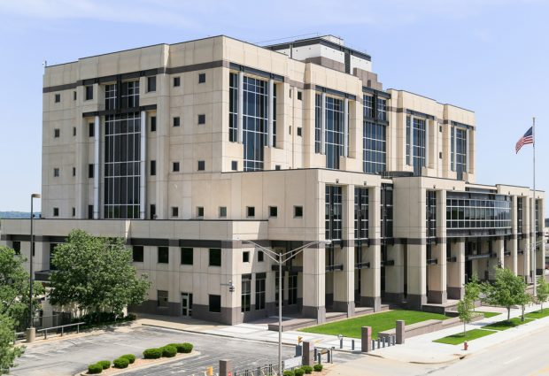 The Robert J. Dole Federal Courthouse for the District of Kansas.