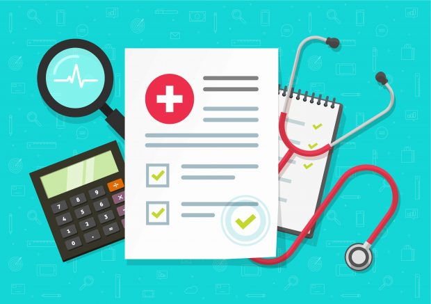 medical forms with calculator