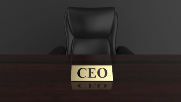 CEO desk and chair