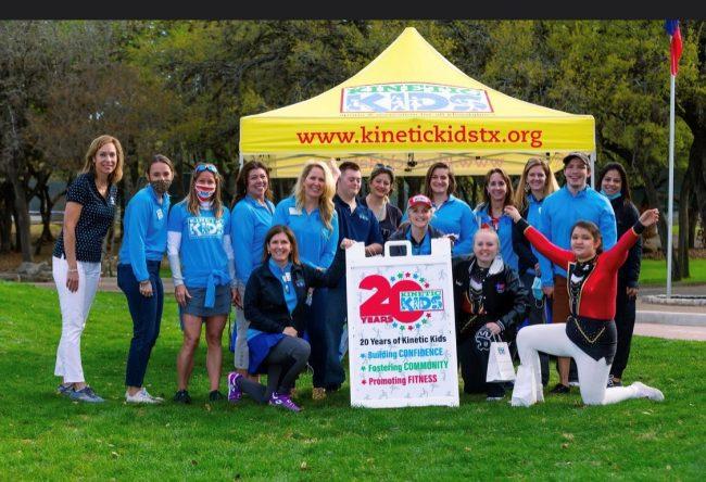 Kinetic Kids staff and volunteers