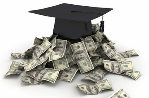 Money pouring out of a mortarboard (Image: Shutterstock)