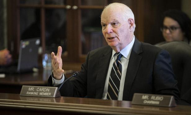 Sen. Ben Cardin, D-Md. (Photo: Al Drago/Bloomberg)