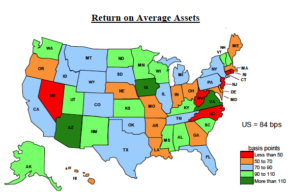 Ncua debuts key financial indicators map credit union times with this information credit unions can make better decisions and the public can gain a greater understanding of how credit unions are performing gumiabroncs Choice Image