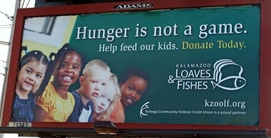 Kellogg community helps get word out for Loaves and fishes kalamazoo