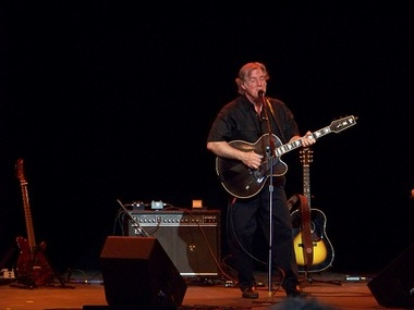 Sixties pop/rock legend John Sebastian on stage at the Strand-Capitol Performing Arts Center in York, Pa.