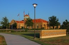 CUTLINE:  Texas Tech FCU's headquarters are located in its own building on three leased acres of the Tech campus. University officials required the building to mirror the Spanish Renaissance design of other campus buildings. The credit union is in the process of building its first off-campus branch on the south side of Lubbock, and will relocate its mortgage operations there and provide full branch service to members when it opens early next year.
